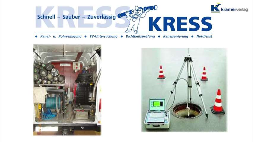 Video 1 Kress GmbH Kanaltechnik
