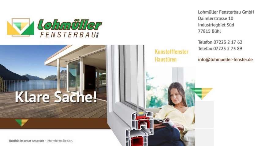 Video 1 Lohmüller Fensterbau GmbH