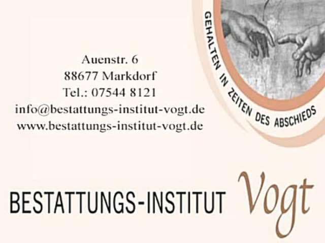 Video 1 Vogt Bestattungen