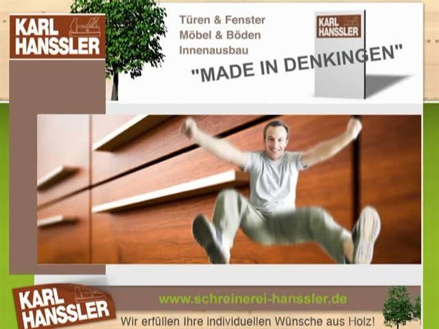 Video 1 Hanssler Karl, Schreinerei