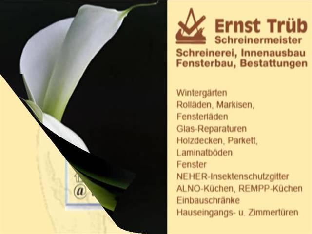 Video 1 Bestattung Beerdigung Trüb Ernst