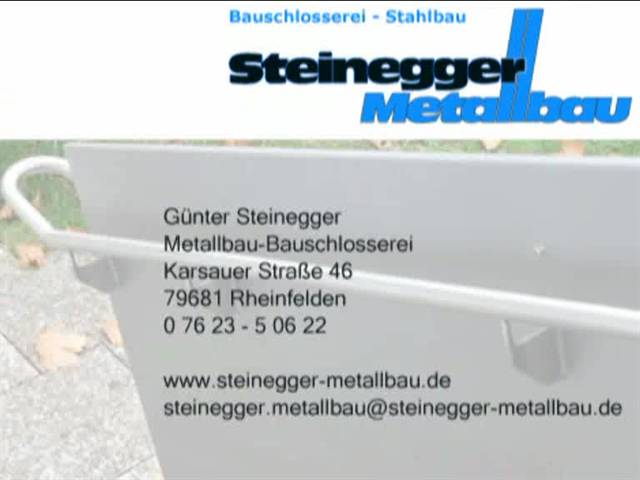 Video 1 Steinegger Günter , Metallbau