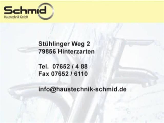 Video 1 Schmid Haustechnik GmbH