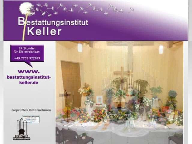 Video 1 Bestattungsinstitut Keller