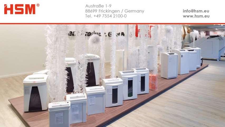 Video 1 HSM GmbH + Co. KG