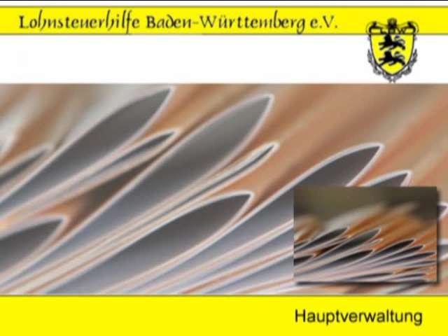 Video 1 Lohnsteuerhilfe Baden-Württemberg e.V.