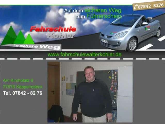Video 1 Fahrschule Kohler