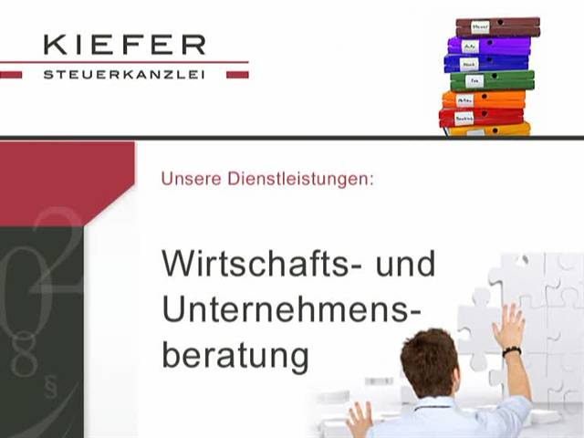 Video 1 Kiefer & Roters Steuerkanzlei