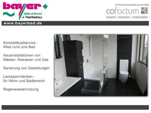 Video 1 Bayer Bäder & Service