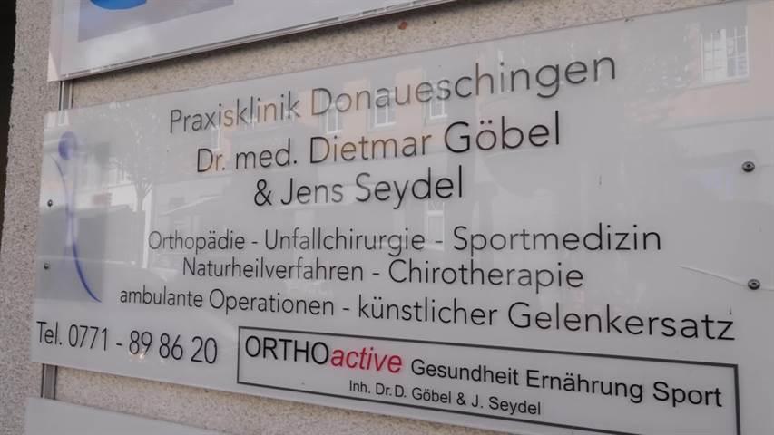 Video 1 Göbel Dietmar Dr.med., Seydel Jens