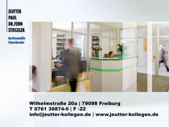 Video 1 Jeutter, Paul, Dr. Fenn, Stiegeler, Memming & Kollegen
