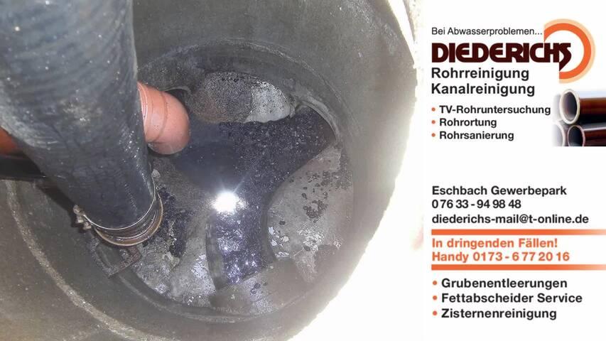 Video 1 Diederichs Rohrreinigung