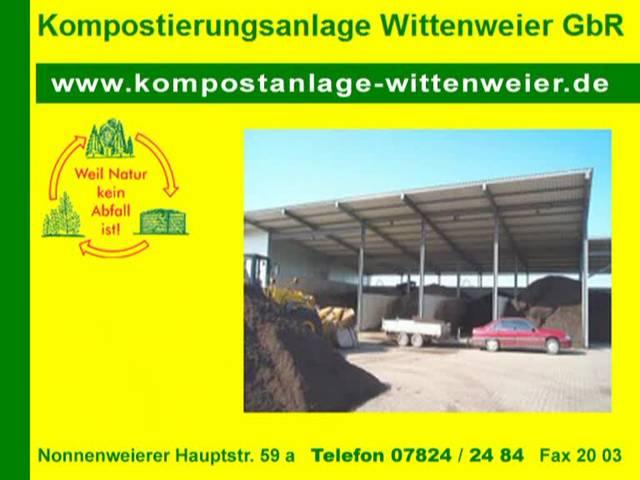 Video 1 Wittenweier GbR, Kompostierungsanlage