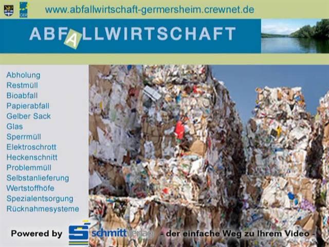 Video 1 Wertstoffhof Berg