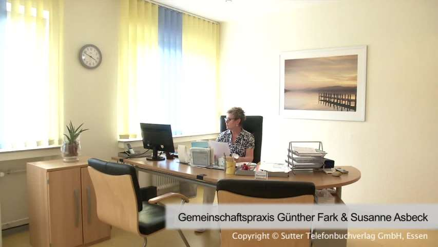 Video 1 Gemeinschaftspraxis Günther Fark und Susanne Asbeck, Sebastian Fark und Dr. Barbara Cosanne-Hesse (Ang. Ärztin)