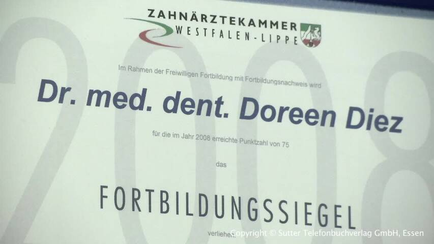 Video 1 Diez, Christian Dr. u. Diez, Doreen Dr.