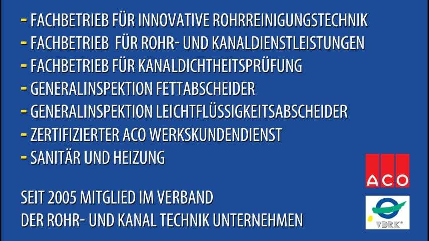 Video 1 ACO Gelsenrohr-Pluska