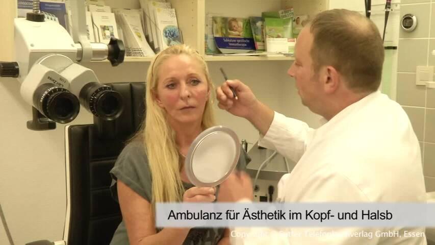 Video 1 Ambulanz für Ästhetik im Kopf- und Halsbereich