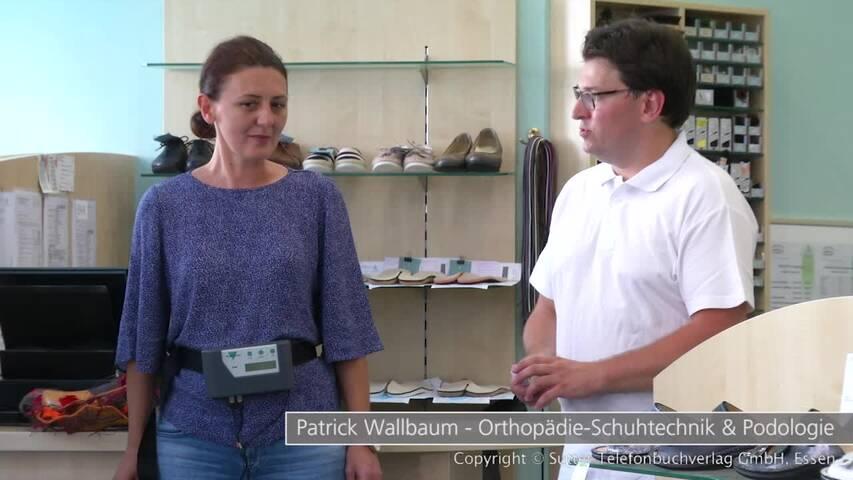 Video 1 Orthopädie Schuhtechnik & Podologie Wallbaum
