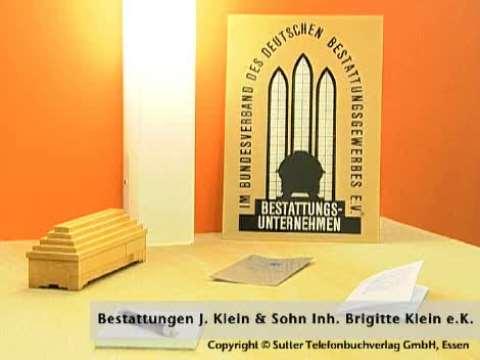 Video 1 Klein & Sohn Julius