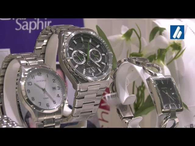 Video 1 Schwarz Wilhelm Uhren, Schmuck und Optik