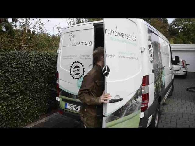 Video 1 bremer grundwasser.de Brunnenbau
