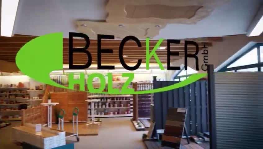 Video 1 C. Becker Holz GmbH Holzfachmarkt Holzgroßhandel