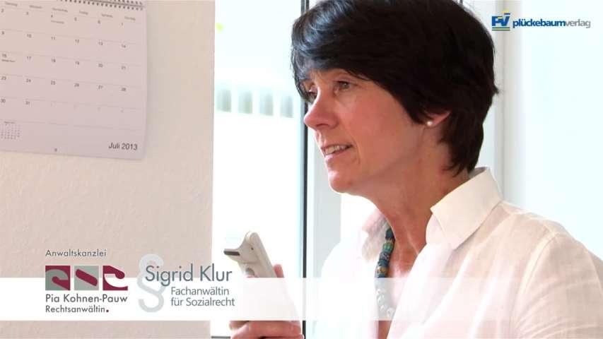 Video 1 Rechtsanwältin Pia Kohnen-Pauw
