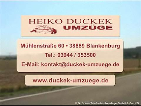 Video 1 Duckek Heiko