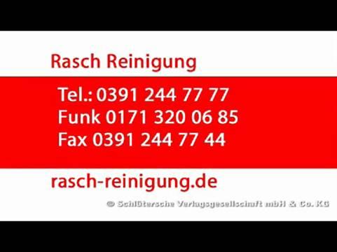 Video 1 Rasch-Reinigungs- und Dienstleistungs GmbH