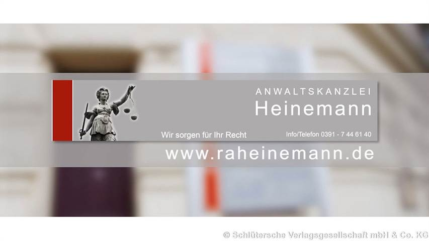 Video 1 Anwaltskanzlei Heinemann