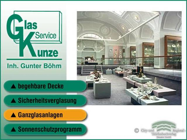 Video 1 Glas-Service Kunze