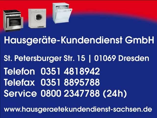 Video 1 Hausgeräte-Kundendienst GmbH