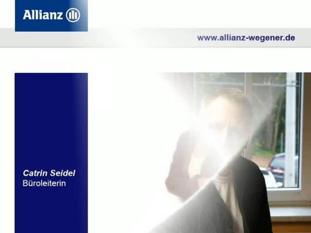 Video 1 Allianz Generalvertretung Wegener Gerd