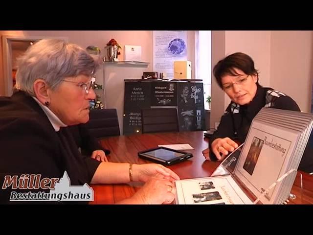 Video 1 Bestattungshaus Müller